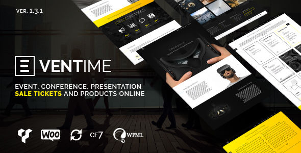 Eventime by Tchaikovsky-design (event & conference WordPress theme)