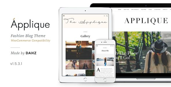 Fashion Blog Theme by Dahz (magazine WordPress theme)