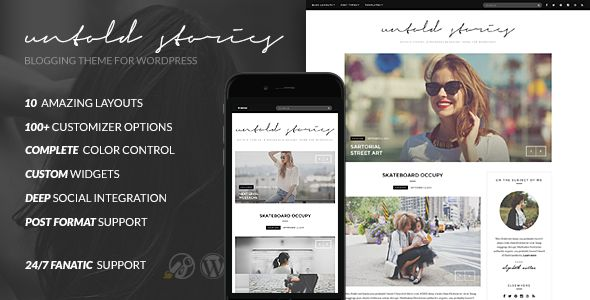 Fashion Blog Theme by Cssignitervip (magazine WordPress theme)