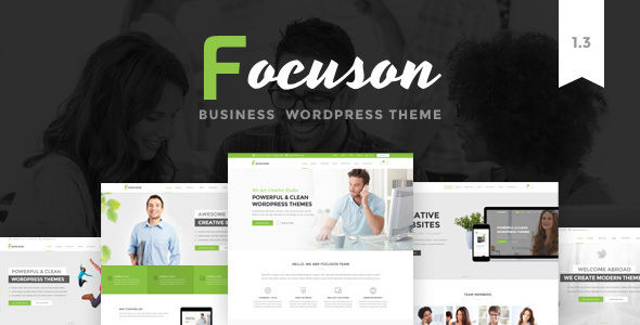 Focuson by Ninzio (multi-purpose WordPress theme)