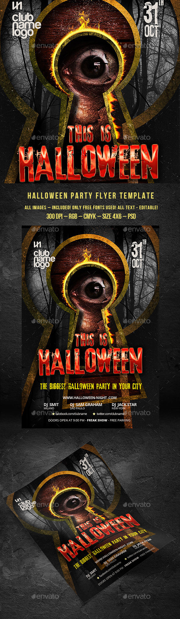 Halloween by BigWeek (Halloween party flyer)