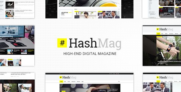 HashMag by Mikado-Themes (magazine WordPress theme)