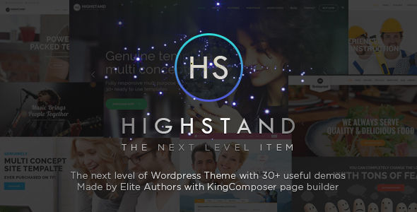Highstand by King-Theme (multi-purpose WordPress theme)