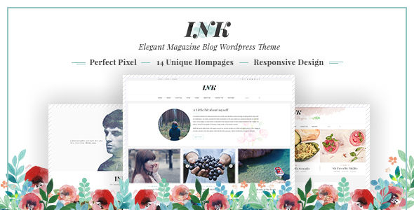 INK by Lunartheme (magazine WordPress theme)