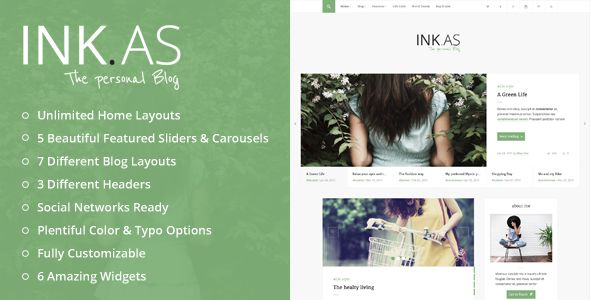 Inkas by UnCommons (magazine WordPress theme)