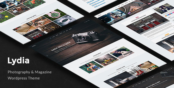 Lydia by Tommusrhodus (multi-purpose WordPress theme)