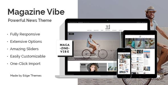 Magazine Vibe by Edge-Themes (magazine WordPress theme)