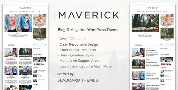 Maverick by Seaboardthemes (magazine WordPress theme)
