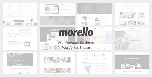 Morello by Tommusrhodus (multi-purpose WordPress theme)