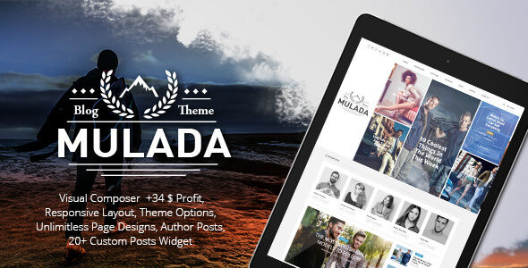 Mulada by GloriaTheme (magazine WordPress theme)