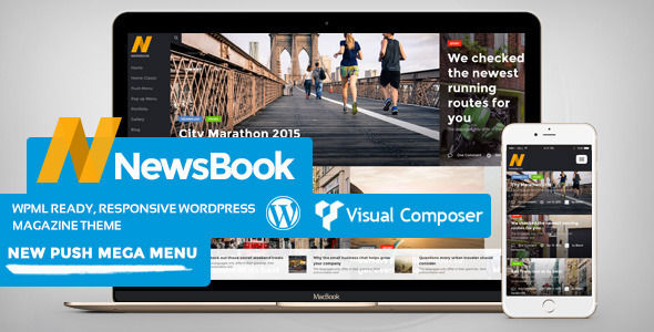 NewsBook by Bebel (WordPress theme with infinite scrolling)