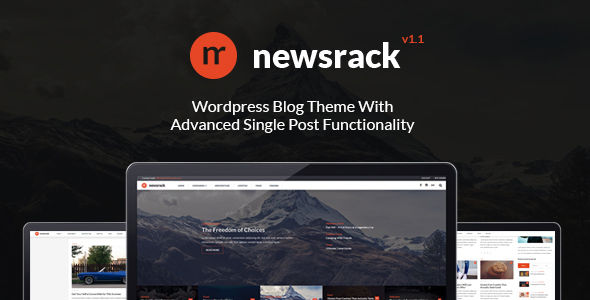 Newsrack by ShindiriStudio (magazine WordPress theme)