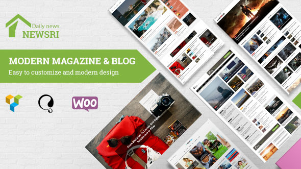 Newsri by SiteSao (magazine WordPress theme)