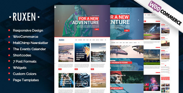 Ruxen by GloriaTheme (magazine WordPress theme)