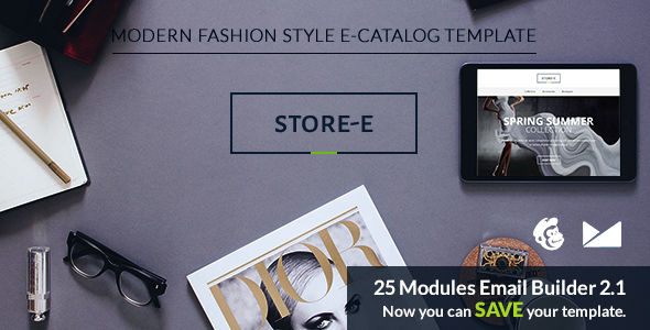 Store by Web4pro (email templates for use with Mailchimp)