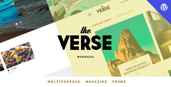 Verse by Wellthemes (magazine WordPress theme)