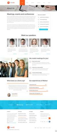 Meeton - Conference - Event WordPress Theme