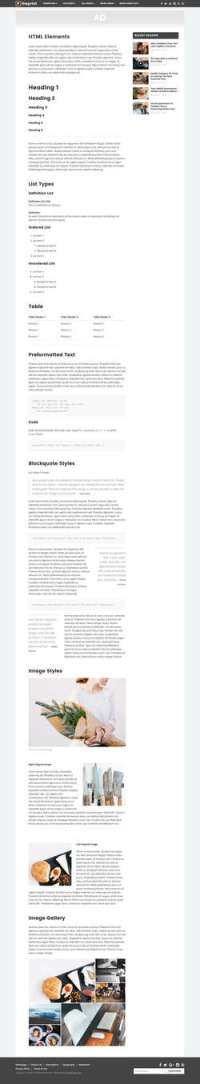 The Print - Theme for Magazines and Simple Blogs