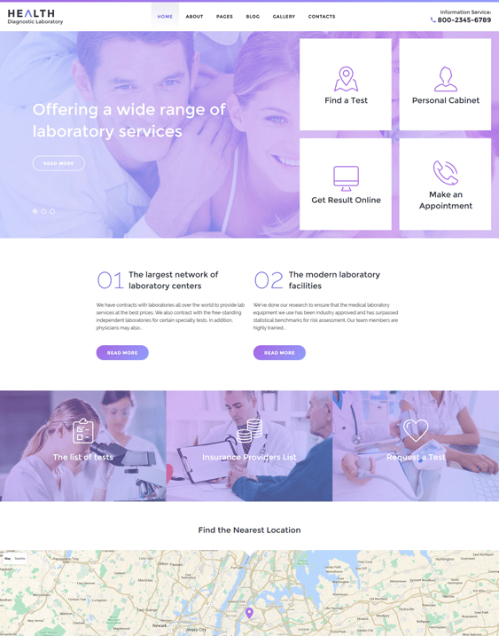 health medical joomla templates