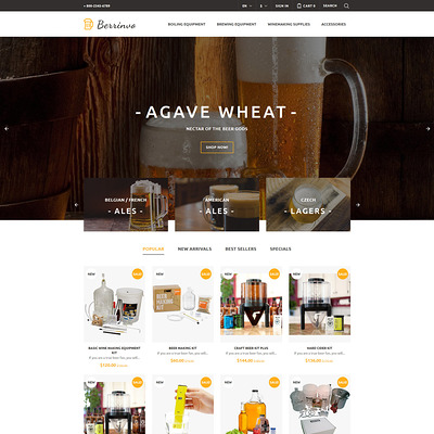 Berrinvo (PrestaShop theme for liquor, alcohol, beer, and wine stores) Item Picture
