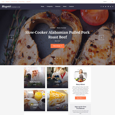 Blogetti (WordPress theme for restaurants) Item Picture