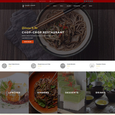 Chop-Chop (WordPress theme for restaurants) Item Picture