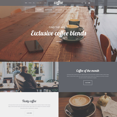 Coffee House Premium PrestaShop Theme