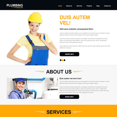 Construction Company Joomla Template (Joomla template for construction companies) Item Picture