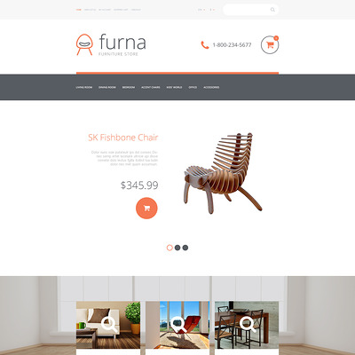 Furna OpenCart Template (OpenCart themes for furniture stores) Item Picture