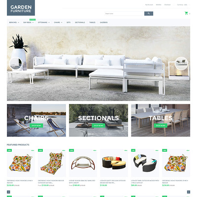 Garden Furniture Shopify Theme (Shopify theme for furniture stores) Item Picture
