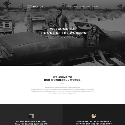 Houston WordPress Theme (WordPress theme for photogaphers) Item Picture