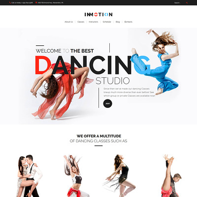 InMotion (education WordPress theme) Item Picture