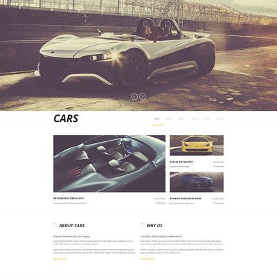 Luxurious Automobiles Joomla Template (Joomla template for car, vehicle, and automotive websites) Item Picture
