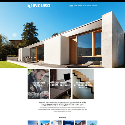 Modern Design Board Joomla Template (Joomla template for architecture ) Item Picture