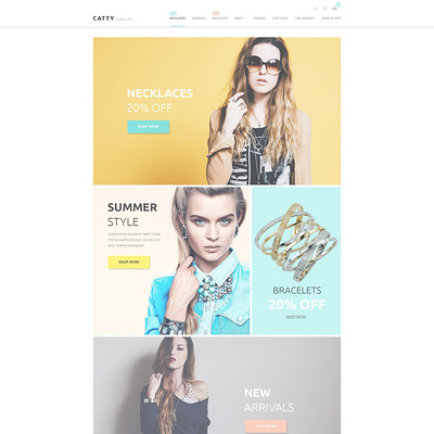 Precious Jewelry Magento Theme (Magento theme for selling jewelry and watches) Item Picture
