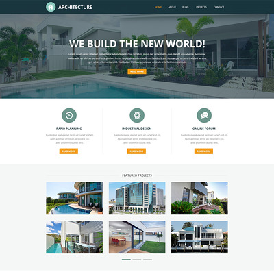 Pro Architectural Designs Joomla Template (Joomla template for architecture ) Item Picture