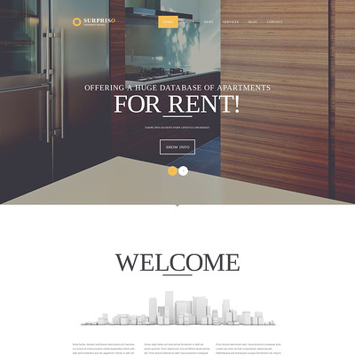 Surpriso Joomla Template (Joomla theme for real estate) Item Picture