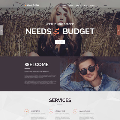 Tomi Solas WordPress Theme (WordPress theme for photogaphers) Item Picture