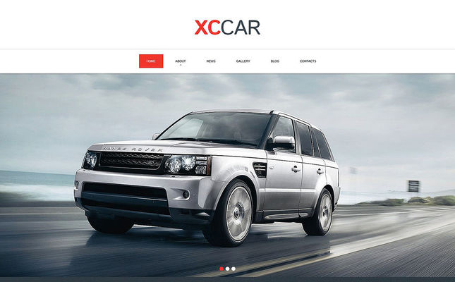 best car vehicle automotive drupal themes feature