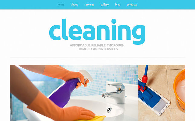 best joomla templates cleaning companies maid services feature