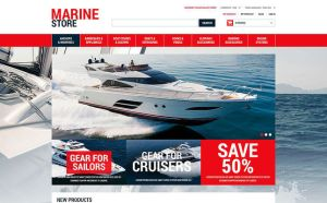 best magento themes marine yachting diving stores feature