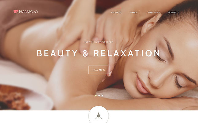 best beauty salon spa joomla templates feature