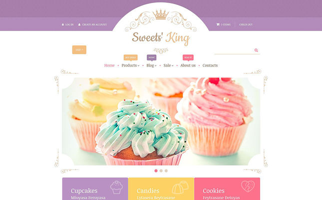 best shopify themes food feature