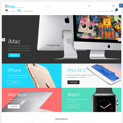 iShop (Magento theme for electronics stores) Item Picture