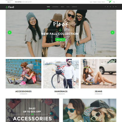 Fleek (WooCommerce theme for selling clothing for men and women) Item Picture