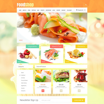 Food Shop WooCommerce Theme (WooCommerce theme for selling food and spices) Item Picture