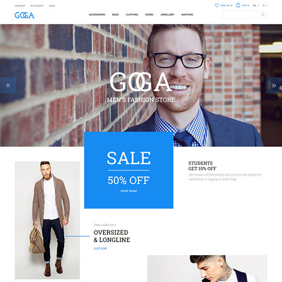 GOGA OpenCart Template (OpenCart theme for clothing stores) Item Picture