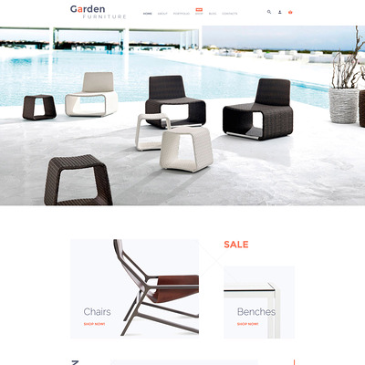 Garden Furniture WooCommerce Theme (WooCommerce theme for furniture stores) Item Picture