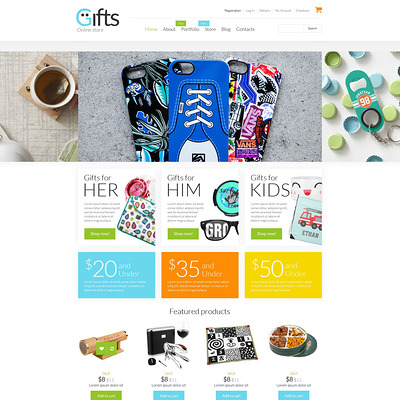 Gifts Shop WooCommerce Theme (WooCommerce theme for florists and gift stores) Item Picture
