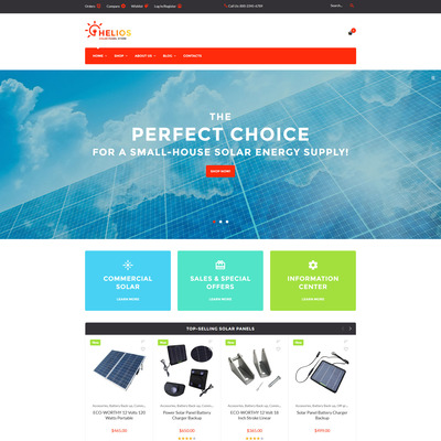 Helios (WooCommerce theme for home improvement and construction supplies) Item Picture